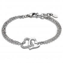 Lotus Style Armband Damen Edelstahl silber LS1912-2/1 Woman`s Heart JLS1912-2-1