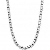LOTUS Style Halskette LS1931-1/1 Herren Edelstahl silber Men Black JLS1931-1-1