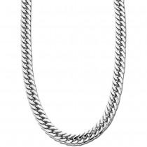 LOTUS Style Halskette LS1939-1/1 Herren Edelstahl silber Men Black JLS1939-1-1