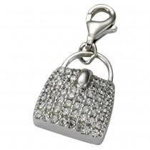 KISMA Schmuck Charms Anhänger Tasche Silber 925 Charm KIC0118-011