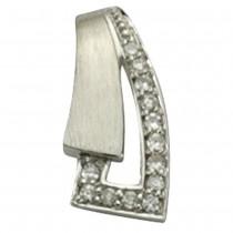 KISMA Schmuck Anhänger für Ketten weiß Sterling Silber 925 KIH0106-003