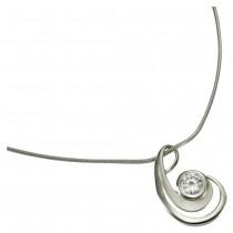 KISMA Schmuck Anhänger für Ketten weiß Sterling Silber 925 KIH0107-002