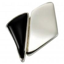 KISMA Schmuck Ketten Anhänger schwarz Sterling Silber 925 KIH0111-011