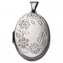 KISMA Schmuck Anhänger für Ketten oval Sterling Silber 925 KIH0120-011