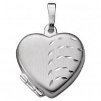 KISMA Schmuck Anhänger für Ketten Herz Sterling Silber 925 KIH0120-013
