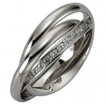KISMA Schmuck Damen-Ring Gr. 58 Sterling Silber 925 KIR0117-014-58