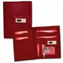 Old River Geldbörse echtes Leder rot XL Damen Brieftasche Portemonnaie OPD701R