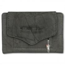 Money Maker Geldbörse Leder grau Brieftasche Portemonnaie RFID Schutz OPJ700K