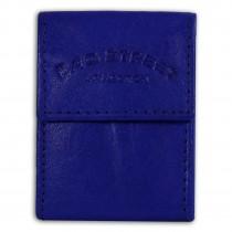 Bag Street kompakte Minibörse echtes Leder Geldbörse Portemonnaie blau OPJ801B