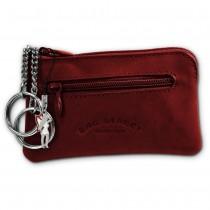 Bag Street Schlüsseltasche rotbraun Echtleder, glattes Leder Etui OPJ900C