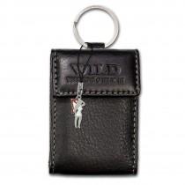 Wild Things Only Etui, Geldbörse Leder schwarz Minibörse Schlüsseltasche OPJ904S