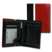 DrachenLeder Geldbörse schwarz Echtleder Portemonnaie Brieftasche Herren OPT042R