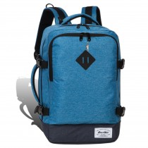 Bestway Flugbegleiter Businessrucksack Polyester Bordgepäck blau unisex ORI103B