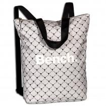 Bench Cityrucksack Nylon grau Henkeltasche Handtasche Damen ORI303N