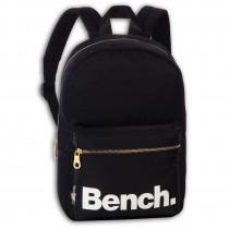 Bench kleiner Cityrucksack Nylon schwarz Sportrucksack Damen Daypack ORI304S