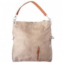 Florence Hobo Bag Umhängetasche braun echtes Leder Damen Schultertasche OTF102C