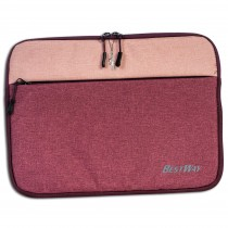 Bestway Laptop-Tasche 13 - 14 Zoll Polyester rosa OTI108A