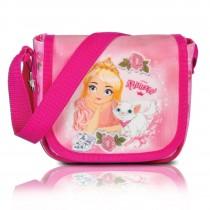Fabrizio Kindergartentasche mit Little Princess und Katze rosa Glitzer OTI210A