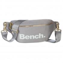Bench trendige Gürteltasche Nylon Bauchtasche grau Hüfttasche hellgrau OTI303K