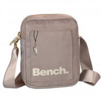 Bench Mini Umhängetasche Nylon Schultertasche Cross Body hellgrau OTI304K