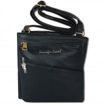 Jennifer Jones Umhängetasche Abendtasche schwarz Damen Schultertasche OTJ141S