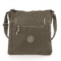 Umhängetasche Nylon stone braun Schultertasche Crossover Bag Bag Street OTJ207L