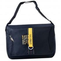 Bag Street Umhängetasche Synthetik navyblau Sportliche Überschlagtasche OTJ228B