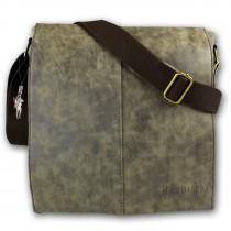 Harolds Tasche Canvas/Kunstleder braun unisex Handtasche OTJ2380N