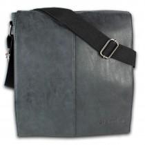 Jennifer Jones Tasche Canvas/Kunstleder schwarz unisex Handtasche OTJ2380S