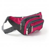 Bag Street sportliche Gürteltasche Nylon pink Bauchtasche Hüfttasche OTJ507P