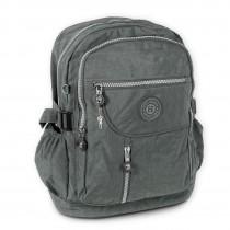 Rucksack, Handtasche Nylon grau Damen Cityrucksack Bag Street OTJ604K