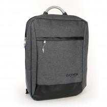 Rucksack Synthetik grau Tabletfach Rucksack, Notebooktasche Bag Street OTJ650K