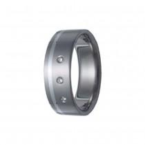 SilberDream Titan Ring Herren Damen Titanringe Gr.18 RXT3018