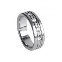 SilberDream Titan Ring Herren Damen Titanringe Gr.18 RXT4048
