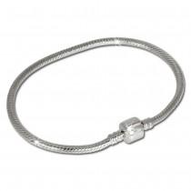 IMPPAC Clip Armband 19cm aus 925 Sterling Silber für Beads SBA003