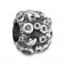 IMPPAC Bead Spaceball 925 Sterling Silber Armband Beads SBB206