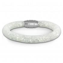 SilberDream Glitzerarmband Minikristalle weiß 18cm Armband Damen SDA050W9