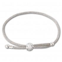 SilberDream Armband Gitter Kugel 925 Sterling Silber Damen SDA103J