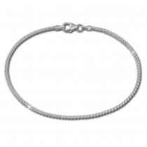 SilberDream Armband Himbeerkette 925er Sterling Silber Damen 19cm SDA2189J