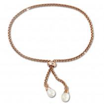 SilberDream Armband rose vergoldet Perle 925er Sterling Silber Damen SDA2255E