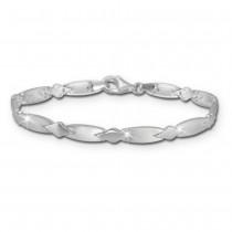 SilberDream Armband Muster 925er Silber 18,5cm Silberarmband SDA437J