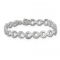SilberDream Armband rund 925er Silber 19cm Silberarmband SDA439J