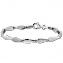 SilberDream Armband Fantasie 925 Sterling Silber 19cm Silberarmband SDA468J