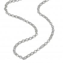 Teenie-Weenie Kette für Kinder 925 Sterling Silber 38cm SDK01338