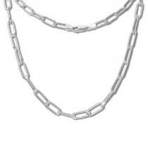 SilberDream Anker Kette Glieder 925 Sterling Silber Damen 75,5cm SDK11775J