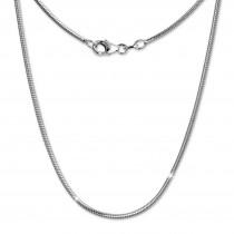 SilberDream Schlangenkette 925 Silber Halskette 70cm Kette SDK20170