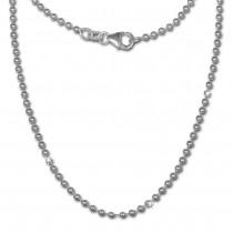 SilberDream Kugelkette 925er Silber Halskette 70cm Kette SDK20670