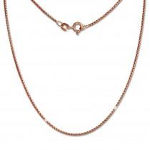 SilberDream Veneziakette rosevergoldet 925er Silber 45cm Damen Kette SDK27245E