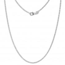 SilberDream Zopfanker Kette 925 Sterling Silber Damen 45cm SDK27945J