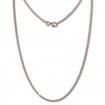 SilberDream Kette Kugel rosevergoldet 925 Silber 45cm Damen Kette SDK28545E